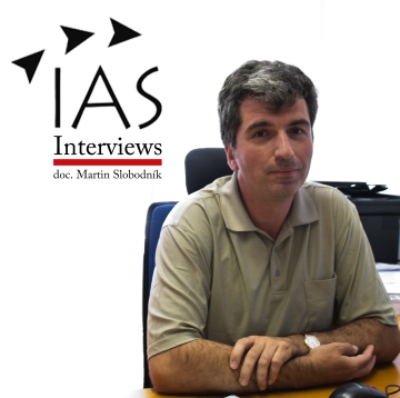 IAS interview s docentom Martinom Slobodníkom