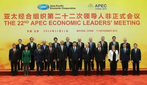 (APEC 2014) CHINA-BEIJING-ECONOMIC LEADERS' MEETING-GROUP PHOTO (CN)