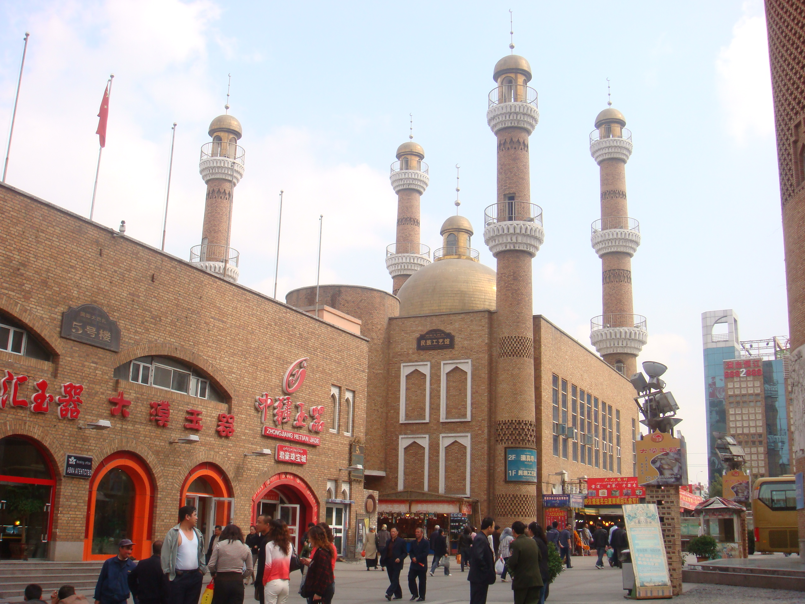 Mosque in Urumqi, Xinjiang