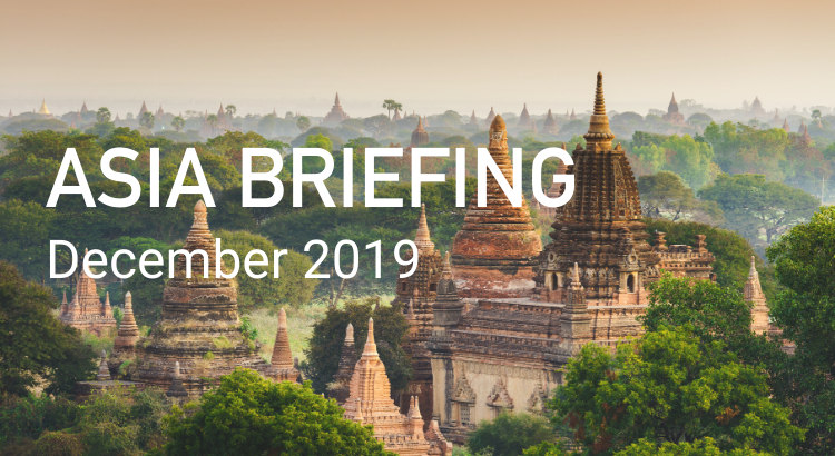 Asia Briefing: December 2019